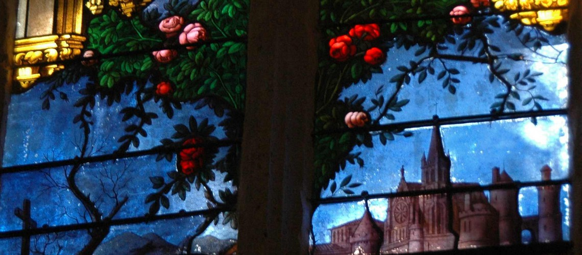 vitrail Sainte Candide